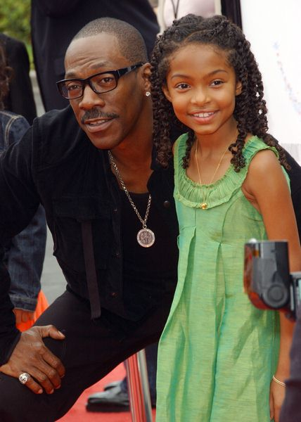 Eddie Murphy, Yara Shahidi at 'Imagine That' Los Angeles Premiere - Paramount Pictures, Los Angeles, CA. USA