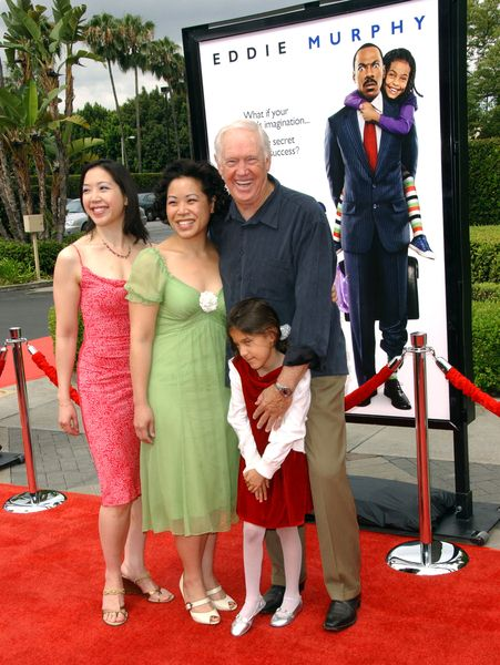 Ronny Cox with grandaughter and friends at 'Imagine That' Los Angeles Premiere - Paramount Pictures, Los Angeles, CA. USA