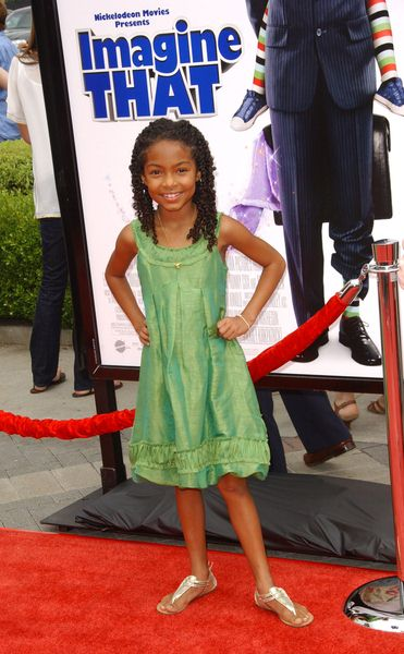Yara Shahidi at 'Imagine That' Los Angeles Premiere - Paramount Pictures, Los Angeles, CA. USA