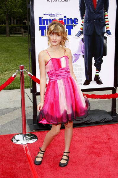 Bella Thorne at 'Imagine That' Los Angeles Premiere - Paramount Pictures, Los Angeles, CA. USA