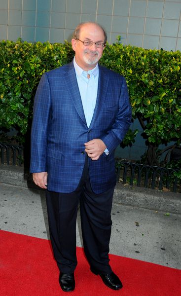 Salman Rushdie at 'Inglourious Basterds' New York Premiere - Arrivals at SVA Theater, New York City, NY, USA