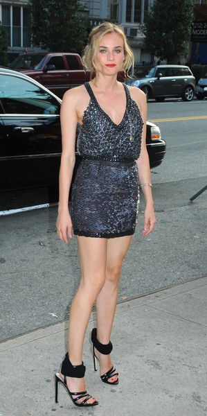 Diane Kruger at 'Inglourious Basterds' New York Premiere - Arrivals at SVA Theater, New York City, NY, USA