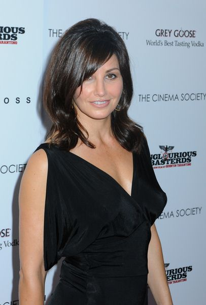 Gina Gershon at 'Inglourious Basterds' New York Premiere - Arrivals at SVA Theater, New York City, NY, USA