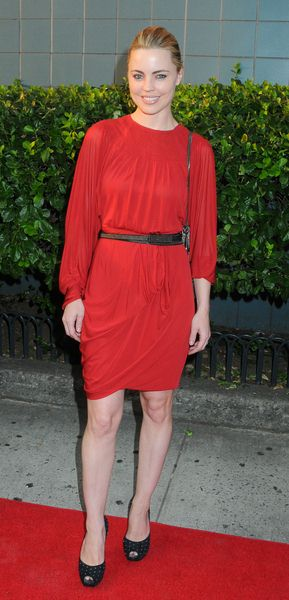 Melissa George at 'Inglourious Basterds' New York Premiere - Arrivals at SVA Theater, New York City, NY, USA