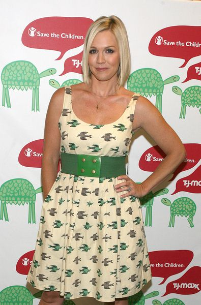 Jennie Garth at Jennie Garth Launches Save the Children's Back-to-School Program at T.J. Maxx, 620 Avenue of The Americas at 18th Street, New York City, NY, USA