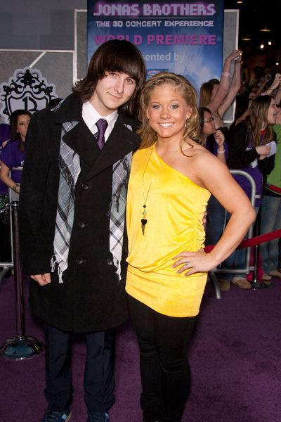Mitchel Musso, Shawn Johnson at