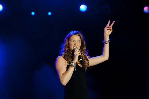 Joss Stone at Joss Stone in Concert at Monumento Duarte Pacheco in Loule, Algarve, Portugal