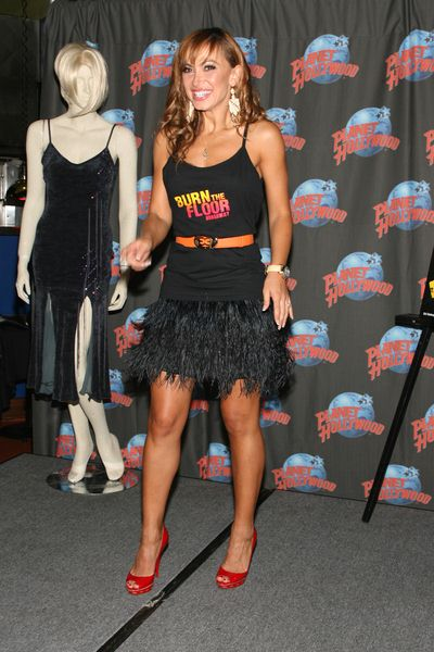 Karina Smirnoff at Karina Smirnoff and Maksim Chmerkovskiy Footprint Ceremony to Promote 'Burn the Floor' at Planet Hollywood, 1540 Broadway at 45th Street, New York City, NY, USA