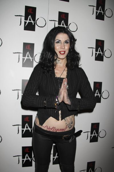 Kat Von D at Kat Von D Celebrates the Launch of Her New Book 'High Voltage Tattoo' at Tao Nighclub Las Vegas - TAO Nightclub at the Venetian Hotel and Casino, Las Vegas, NV, USA