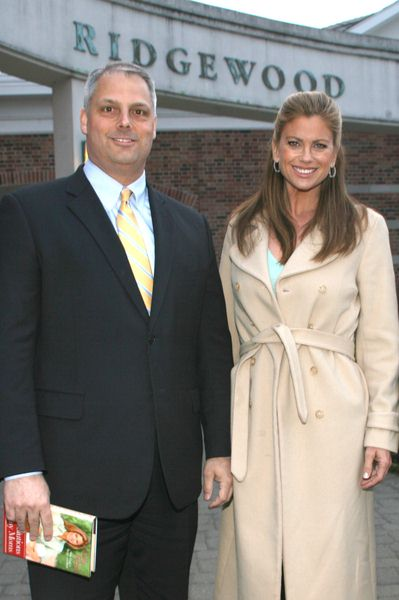 David Pfund, Kathy Ireland at Kathy Ireland's 'Real Solutions for Busy Moms' Book Signing at the Ridgewood Public Library in Ridgewood, NJ, USA