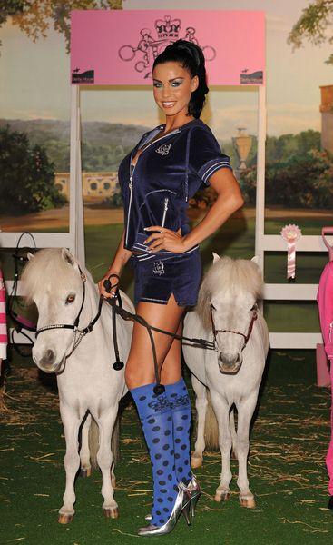 Katie Price at Katie Price Launches Her New Equestrian Range at The Work Studios in London - The Work Studio, London, UK