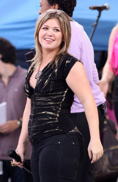 Kelly Clarkson at Kelly Clarkson in Concert on Good Morning America Summer Concert Series - Rumsey Playfield, Central Park, New York City, NY, USA
