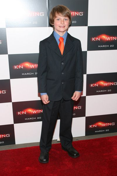 Chandler Canterbury at 'Knowing' New York Premiere - AMC Loews Lincoln Square, New York City, NY, USA