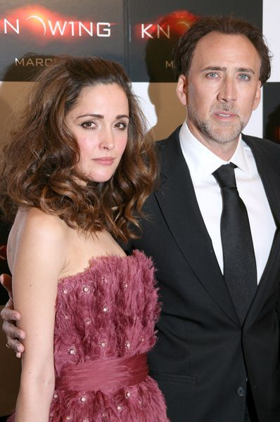 Rose Byrne, Nicolas Cage at 'Knowing' New York Premiere - AMC Loews Lincoln Square, New York City, NY, USA