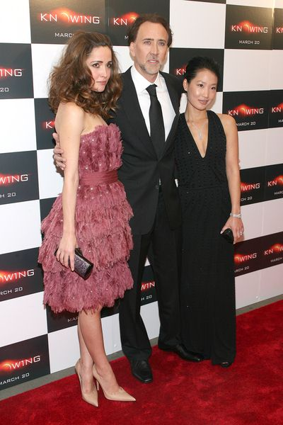 Rose Byrne, Nicolas Cage, Alice Kim at 'Knowing' New York Premiere - AMC Loews Lincoln Square, New York City, NY, USA