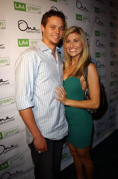 Clay Buchholz, Lindsay Clubine at LA4 Green Party - One Sunset, West Hollywood, CA. USA
