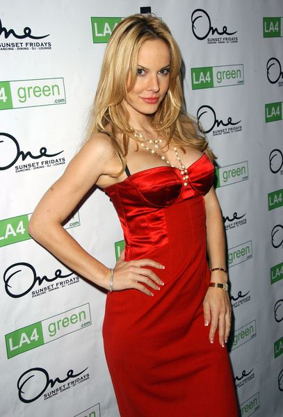 Simona Fusco at LA4 Green Party - One Sunset, West Hollywood, CA. USA