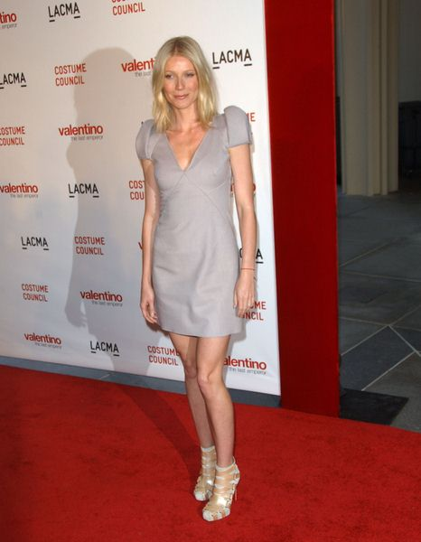 Gwyneth Paltrow at LACMA Presents The West Coast Premiere Of 'Valentino: The Last Emperor' - Bing Theater at LACMA, Los Angeles, CA. USA