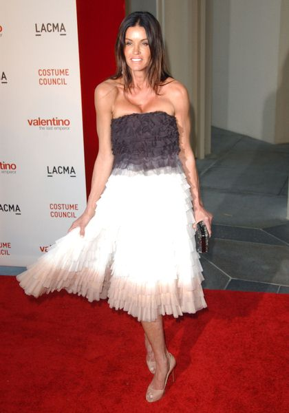Janice Dickinson at LACMA Presents The West Coast Premiere Of 'Valentino: The Last Emperor' - Bing Theater at LACMA, Los Angeles, CA. USA
