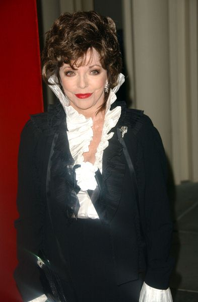 Joan Collins at LACMA Presents The West Coast Premiere Of 'Valentino: The Last Emperor' - Bing Theater at LACMA, Los Angeles, CA. USA
