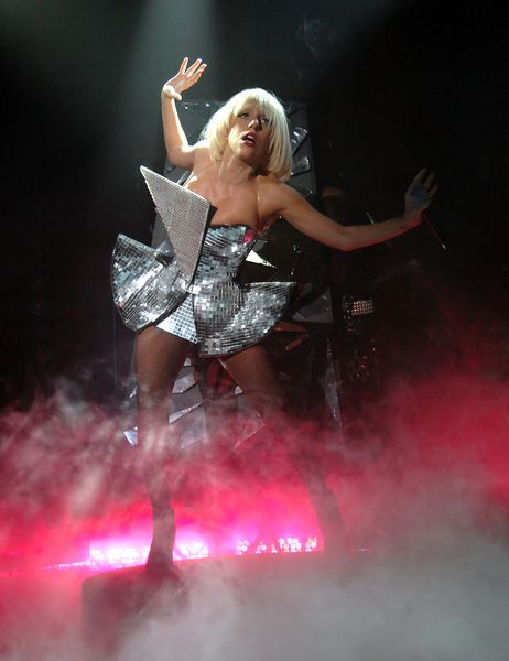 Lady Gaga (Stefani Germanotta) at Lady Gaga in Concert at Manchester Academy on June 29, 2009, Manchester, UK