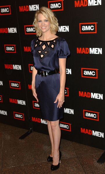 January Jones at 'Mad Men' Season Three Los Angeles Premiere - Directors Guild of America Theatre, Los Angeles, CA, USA