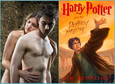 Harry Potter gets naked in 'Deathly Hallows?'