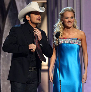 Brad Paisley and Carrie Underwood Open Up the CMA Awards