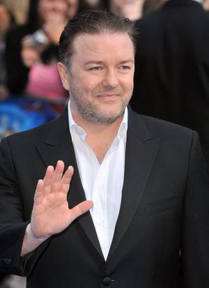 'Fat', 'Rude' and 'Ugly' Ricky Gervais Smacks Oscars, Anne Hathaway & James Franco