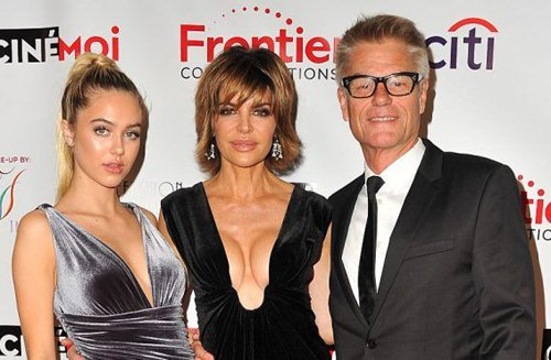 Girls' Night Out: Lisa Rinna and Model Daughter Delilah at CineFashion Film Awards